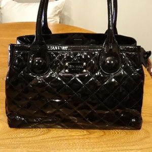 Kate Spade Quilted Patent Leather